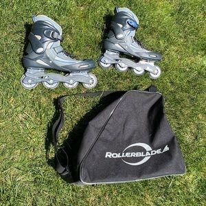 Rollerblade Inline Skates with Bag